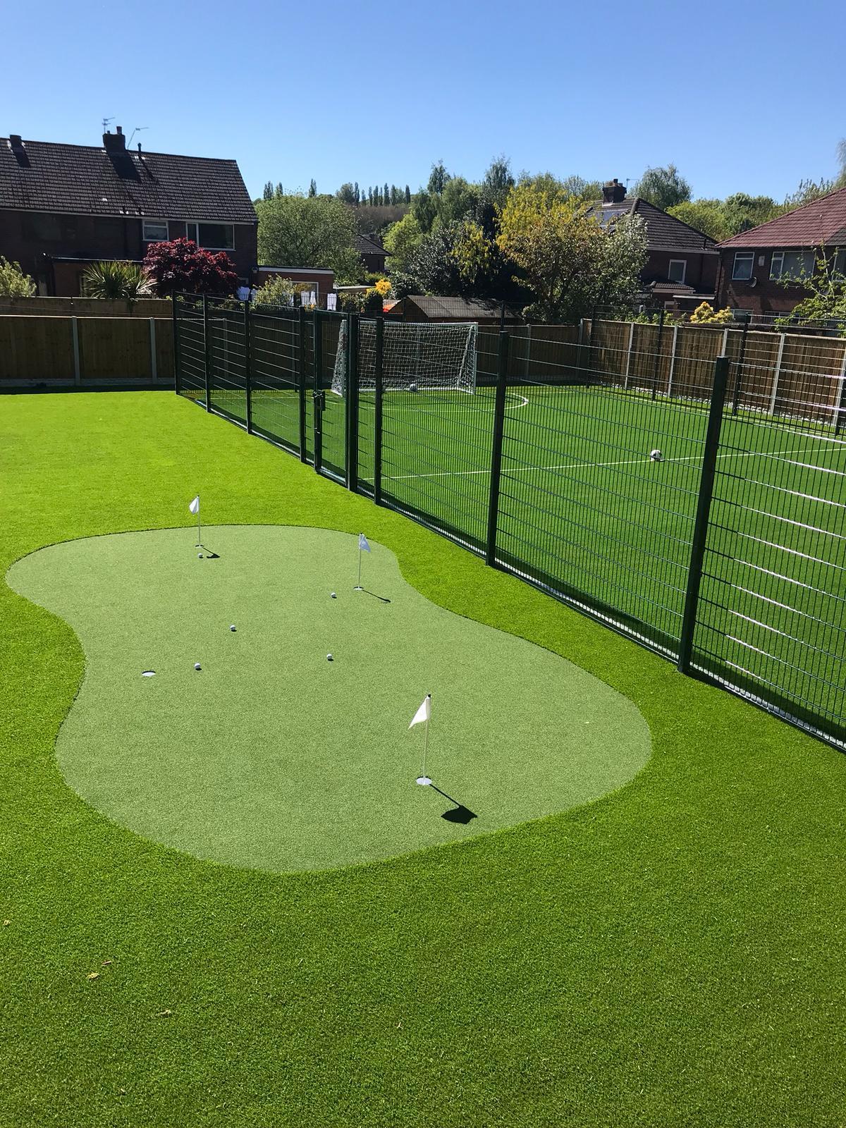 Commercial Retail Multisport Artificial Grass